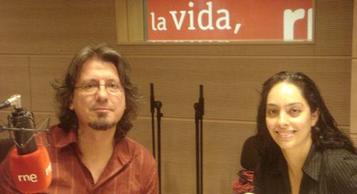 Juanan y Araceli en RNE